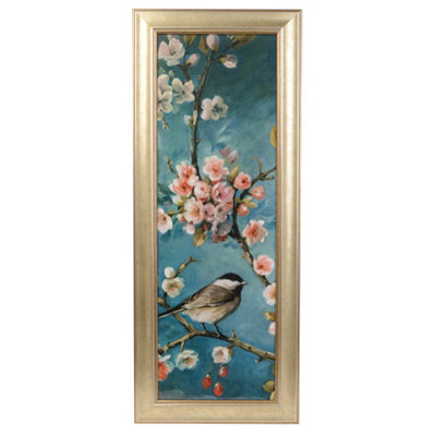 Blossoms & Birds I Framed Art Print