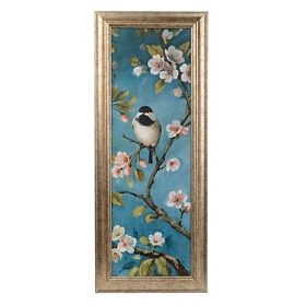 Blossoms & Birds II Framed Art Print