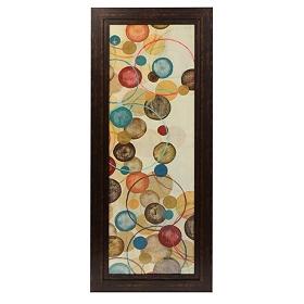 Calypso Circles II Framed Art Print