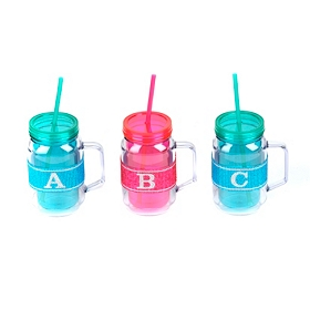 Monogram Party Mugs