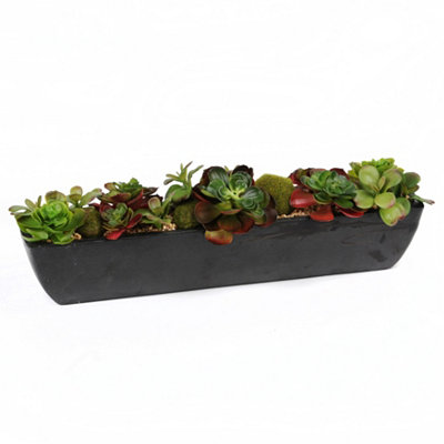 Succulent Floral Arrangement, 22 in.