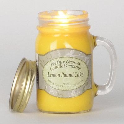 Lemon Pound Cake Mason Jar Candle