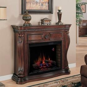 Lexington Cherry Electric Fireplace
