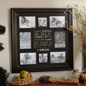 Love Puts the Fun in Together Collage Frame