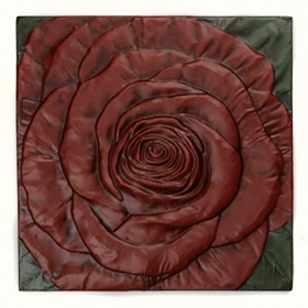 Rose Tile Wall Plaque