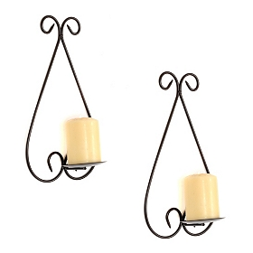 Griffin Scroll Sconce, Set of 2