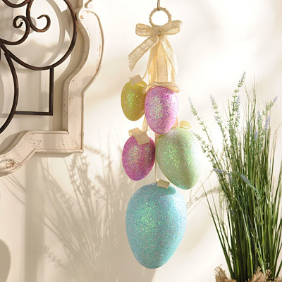 Easter Egg Swag, 23 in.