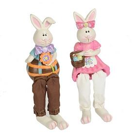 Hippity Hoppity Bunny Shelf Sitters