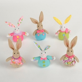Mini Plush Easter Bunnies