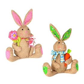 Patchwork Easter Bunny Boy and Girl
