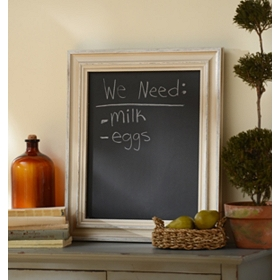 Cream Chalkboard Wall Plaque