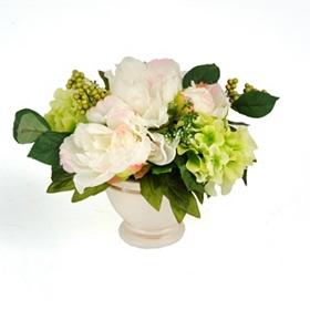 Peony & Hydrangea Floral Arrangement