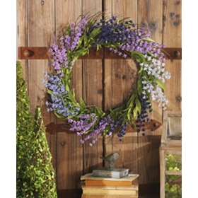 Lavender Wreath, 22 in.
