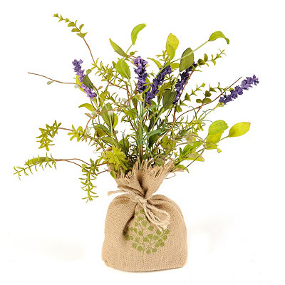 Lavender Floral Arrangement, 17 in.