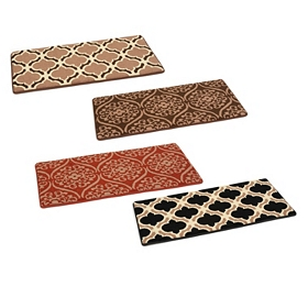 Geometric Foam Kitchen Mats