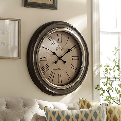 Brown Avenger Wall Clock