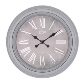 Antique Gray Avenger Wall Clock