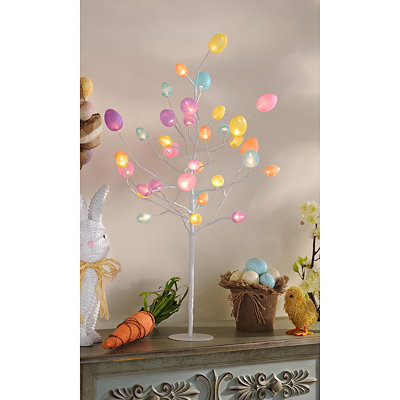 Pre-Lit LED Easter Egg Tree