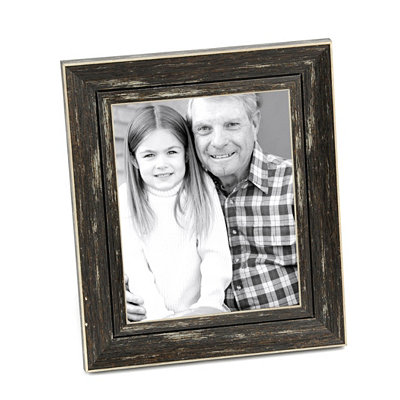 Distressed Black Picture Frame, 8x10