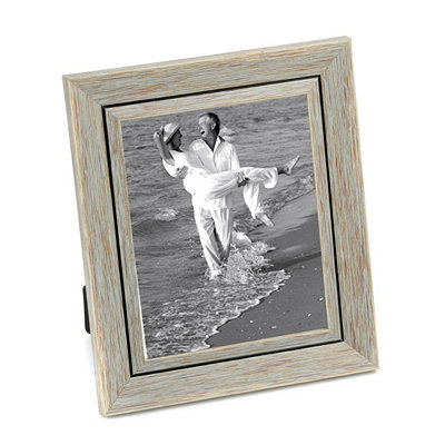 Distressed Blue Picture Frame, 8x10