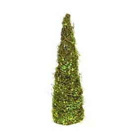 Moss Cone Topiary, 24 in.