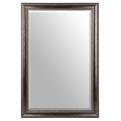 Bronze Framed Mirror, 30x48 in.