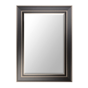 Black Framed Mirror, 34x46