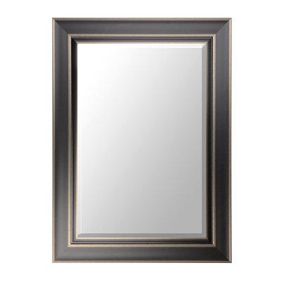 Black Framed Mirror, 34x46