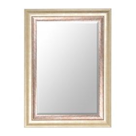 Champagne Framed Mirror, 33x45