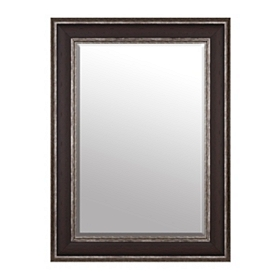 Dark Woodtone Framed Mirror