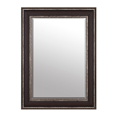 Dark Woodtone Mirror