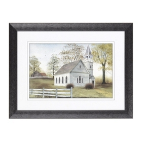 Sunday Go To Meetin' Framed Art Print