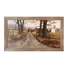 The Road Home Framed Art Print