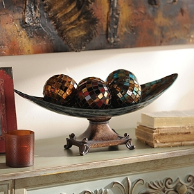 Mosaic Orb Bowl Set