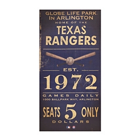 Vintage Rangers Wall Plaque
