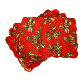 Festive Berries Placemat, Set of 4
