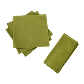 Green Napkin, Set of 4