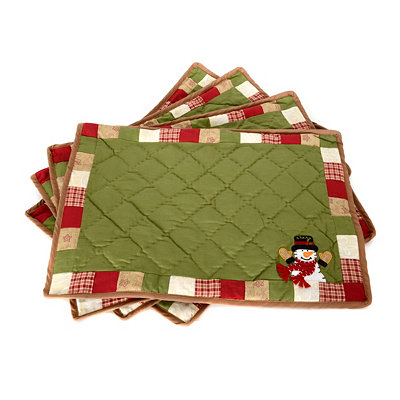 Snowplace Like Home Placemat, Set of 4