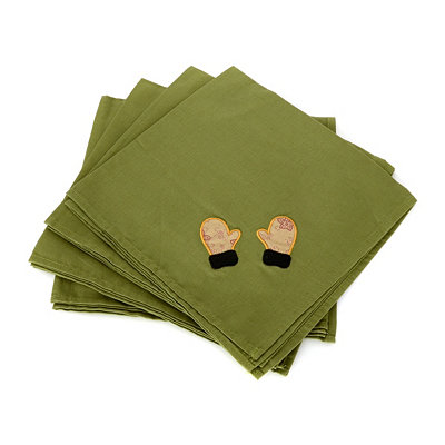 Snowplace Like Home Napkin, Set of 4