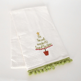 Most Wonderful Time Kitchen Towel