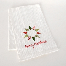 Christmas Tree Wreath Kitchen Towel