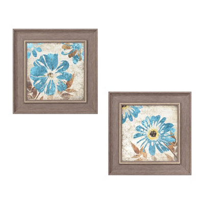 Floral Symphony Framed Art Prints