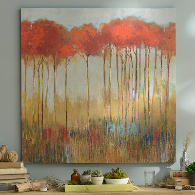 In the Middle of the Forest Canvas Art Print