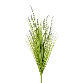 Sylvia Lavender Grass Bush, 26 in.