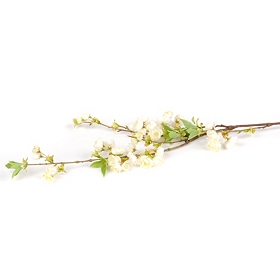Pearl Cherry Blossom Stem, 46 in.