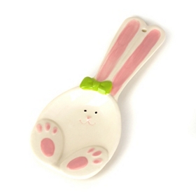 Easter Bunny Spoon Rest