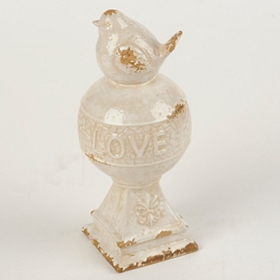 Love Bird Orb Statue