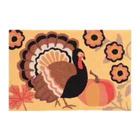 Let's Talk Turkey Accent Rug