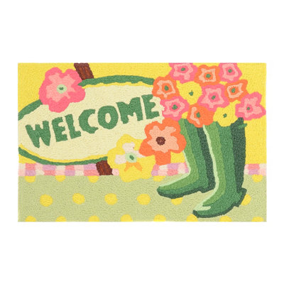 Gardener's Welcome Accent Rug