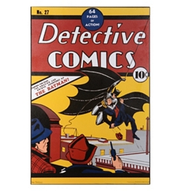 Batman Comic Book Wall Plaque